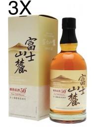 (3 BOTTLES) Kirin Distillery - Fuji Sanroku Blended Whisky - 70cl - Astucciato