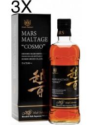 """(3 BOTTLES) Hombo Shuzo - Mars Maltage """"Cosmo"""" - Blended Malt Whisky - 70cl"""