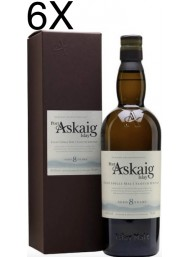 (6 BOTTLES) Port Askaig - 8 Years - Islay Single Malt Scoth Whisky - 70cl - Astucciato