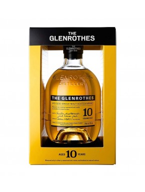 The Glenrothes - 10 Year Old - Single Malt Whisky - 70cl - Astucciato