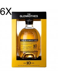 (6 BOTTLES) The Glenrothes - 10 Year Old - Single Malt Whisky - 70cl