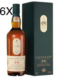 (6 BOTTLES) Lagavulin - Islay Single Malt - 16 years - 70cl