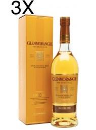 (3 BOTTIGLIE) Glenmorangie  - Highland Single Malt - 10 anni - 70cl