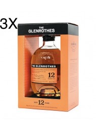 (3 BOTTIGLIE) The Glenrothes - 12 Year Old - Single Malt Whisky - 70cl - Astucciato