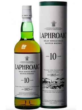 Laphroaig - Islay Single Malt - 10 anni - 70cl