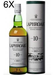 (6 BOTTIGLIE) Laphroaig - Islay Single Malt - 10 anni - 70cl