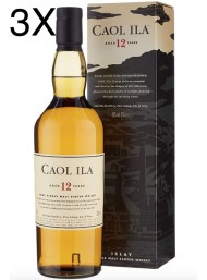 (3 BOTTLES) Caol Ila - Isley Single Malt - 12 years - 70cl