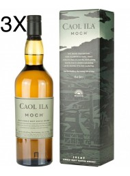 (3 BOTTLES) Caol Ila - Moch - Single Malt Scoth Whisky - 70cl