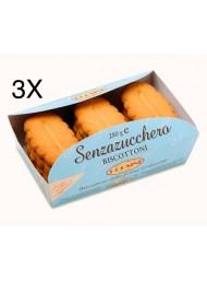 (3 PACKS) Corsini - Biscuits Sugar Free - 280g