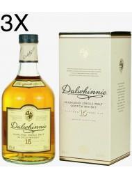 (3 BOTTIGLIE) Dalwhinnie - Highland Single Malt - 15 Anni - 70cl