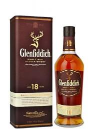 Glenfiddich - Single Malt Scotch Whisky - 18 anni - 70cl - Astucciato
