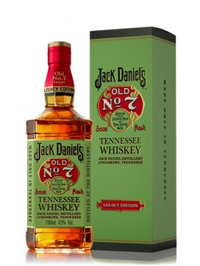 Jack Daniel's - Old No. 7 - Legacy Edition - Tennessee Whisky - Gift Box - 70cl