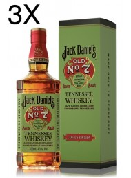 (3 BOTTLES) Jack Daniel's - Old No. 7 - Legacy Edition - Tennessee Whisky - Gift Box - 70cl