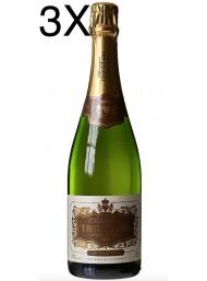 (3 BOTTLES) Trouillard - Brut Authentique - Champagne - 75cl