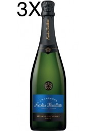 (3 BOTTIGLIE) Nicolas Feuillatte - Réserve Exclusive Brut - 75cl