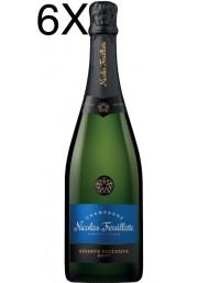 (6 BOTTLES) Nicolas Feuillatte - Brut Réserve - Champagne - 75cl