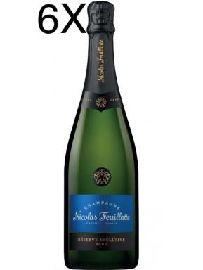 (6 BOTTIGLIE) Nicolas Feuillatte - Réserve Exclusive Brut - 75cl