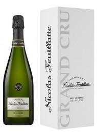 Nicolas Feuillatte - Grand Cru Chardonnay Vintage 2012 - Blanc de Blancs - Champagne - 75cl - Gift Box