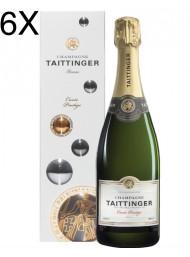 (6 BOTTLES) Taittinger - Cuvee Prestige - Brut - Astucciato - 75cl