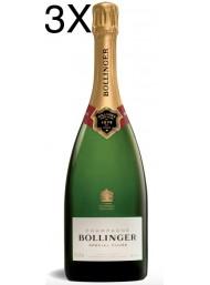 (3 BOTTLES) Bollinger - Special Cuvée - Champagne - 75cl