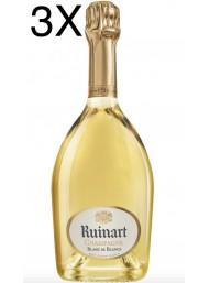 (3 BOTTIGLIE) Ruinart - Blanc de Blancs - Champagne - 75cl