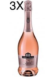 (3 BOTTIGLIE) Villa Sandi - Rosé - Brut Rosato - Il Fresco - Vino Spumante - 75cl