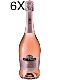 (6 BOTTLES) Villa Sandi - Rosé - Brut Rosato - Il Fresco - Vino Spumante - 75cl