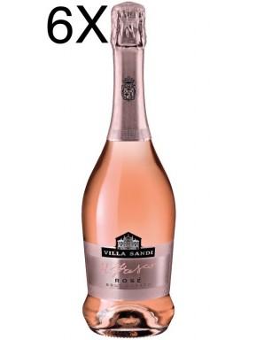 (6 BOTTIGLIE) Villa Sandi - Rosé - Brut Rosato - Il Fresco - Vino Spumante - 75cl