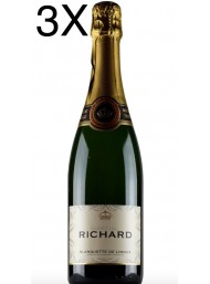 (3 BOTTIGLIE) Blanquette de Limoux - Brut Martial Richard AOC - 75cl