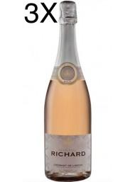 (3 BOTTIGLIE) Cremant de Limoux - Rosé Brut Martial Richard AOC - 75cl