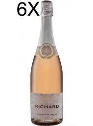 (6 BOTTIGLIE) Cremant de Limoux - Rosé Brut Martial Richard AOC - 75cl