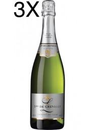 (3 BOTTIGLIE) Louis de Grenelle - Crémant de Loire Cuvée Platine - 75cl