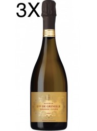 (3 BOTTIGLIE) Louis de Grenelle - Saumur - Grande Cuvée Brut - Methode Traditionnelle - 75cl