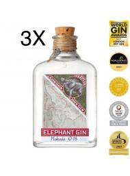 (3 BOTTLES) Elephant - London Dry Gin - 50cl
