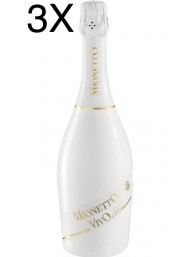 (3 BOTTLES) Mionetto Vivo - Cuvee Blanc - Extra Dry - 75cl