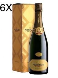 (6 BOTTLES) Ferrari - Perlè 2013 - Trento DOC - 75cl - Gift Box
