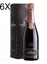 (6 BOTTIGLIE) Ferrari - Perlè Rosé 2015 - Trento DOC - 75cl
