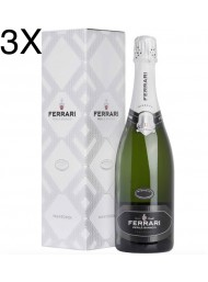(3 BOTTLES) Ferrari - Perlè Bianco Riserva 2013 - Trento DOC - 75cl