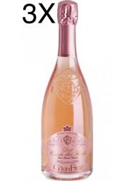 (3 BOTTIGLIE) Cà dei Frati - Rosé Cuvée dei Frati - Brut Metodo Classico - 75cl