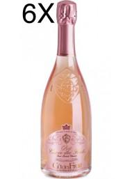 (6 BOTTIGLIE) Cà dei Frati - Rosé Cuvée dei Frati - Brut Metodo Classico - 75cl