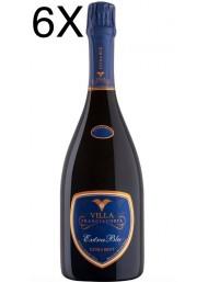 (6 BOTTLES) Villa - Extra Blu - Extra Brut - Millesimato 2013 - Franciacorta - 75cl