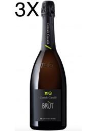 (3 BOTTIGLIE) Contadi Castaldi - Brut - Franciacorta - 75cl