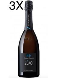 (3 BOTTIGLIE) Contadi Castaldi - Zero - Franciacorta 2015 - 75cl