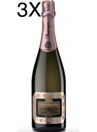 (3 BOTTLES) Monte Rossa - Flamingo Rosé Brut - Franciacorta - 75cl