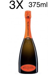 (3 BOTTLES) Bellavista - Alma Gran Cuvee Brut - 375 ml