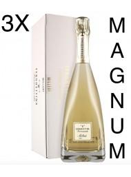 (3 BOTTLES) Ferghettina - Milledi' Brut 2014 - Magnum Astucciato - Franciacorta DOCG - 150cl