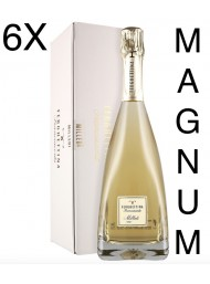 (6 BOTTLES) Ferghettina - Milledi' Brut 2015 - Magnum Astucciato - Franciacorta DOCG - 150cl
