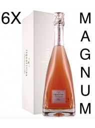 (6 BOTTIGLIE) Ferghettina - Milledi' Rose' 2015 - Magnum Astucciato - Franciacorta DOCG - 150cl