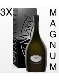 (3 BOTTLES) Foss Marai - Guia - Brut Millesimato - Magnum - Gift Box - 150cl