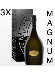 (3 BOTTIGLIE) Foss Marai - Nadin - Dry Millesimato - Magnum - Astucciato - 150cl